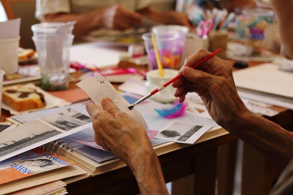 peinture activité sensorielle