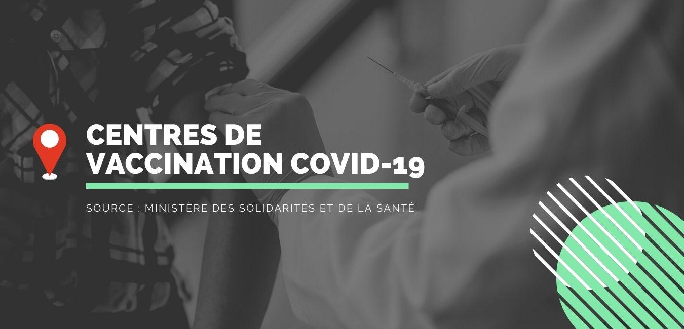centres de vaccination COVID-19